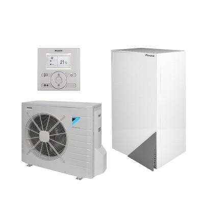 Термопомпа Daikin Аltherma ERLQ011CV3 / EHVX11S18CB3V - отопление и охлаждане