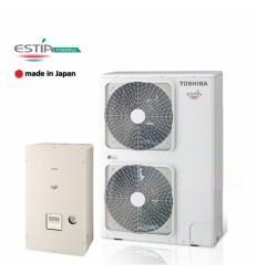 Термопомпа Toshiba Estia HWS-804H-E / HWS-804XWHM3-E