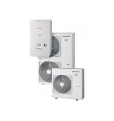 Термопомпа Toshiba HWS-1604H8-E / HWS-1404XWHМ3-E