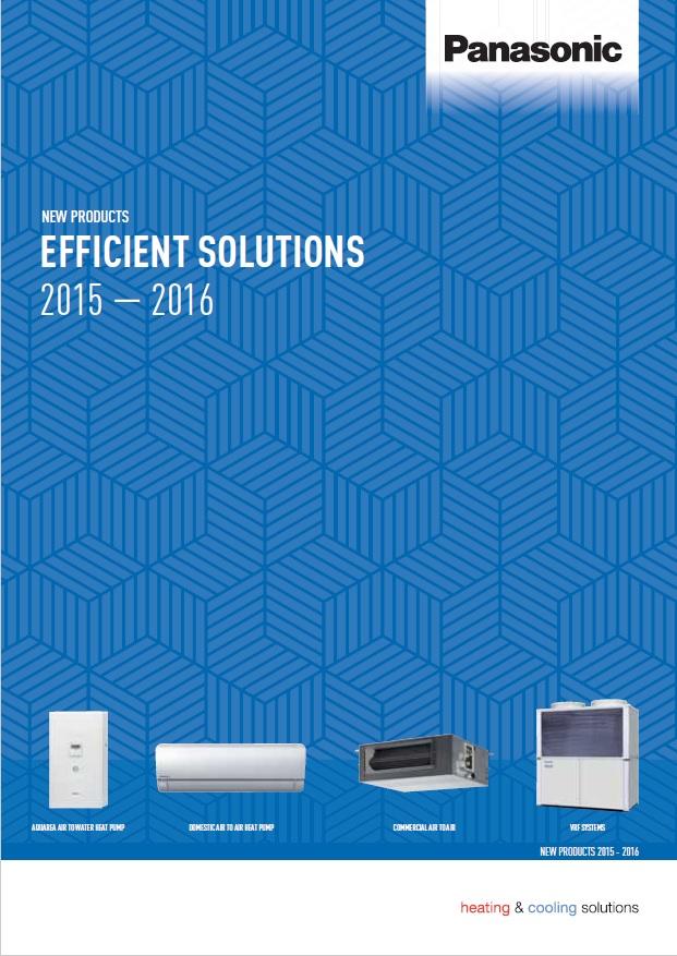 Пълен каталог климатични системи Panasonic 2015